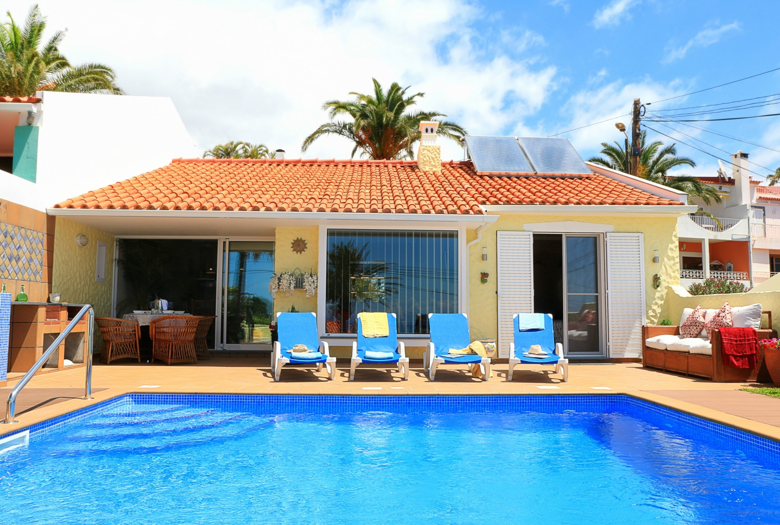 Sea View Vila - charming villa with swimming pool, sun terrace & lovely views 46553/AL